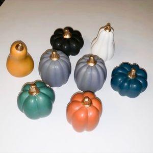 ••LAST SET•• Mini Ceramic Pumpkin Set